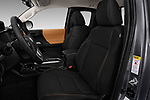 Front seat view of a 2016 Toyota Tacoma SR5 Access Cab 4 Door Pick Up front seat car photos