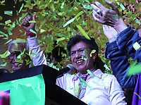 BOGOTÁ - COLOMBIA, 27-10-2019:Claudia López  alcalde de Bogotá.Jornada de elecciones para alcaldes y gobernadores en Colombia./. Photo: VizzorImage / Felipe Caicedo / Satff