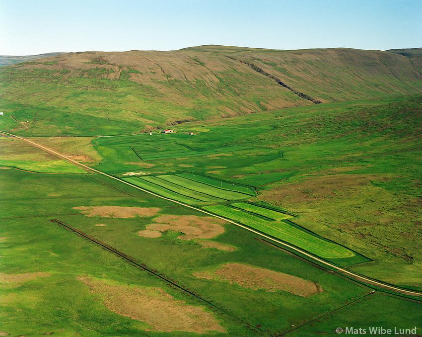 Háafell séð til norðurs. Dalabyggð áður Miðdalahreppur / Haafell viewing north, Dalabyggd former Middalahreppur.