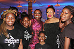 Candace Matthews with As The World Turns' Tamara Tunie and skaters - Figure Skating in Harlem celebrates 20 years - Champions in Life benefit Gala on May 2, 2017 as As The World Turns' Tamara Tunie at 583 Park Avenue, New York City, New York. (Photo by Sue Coflin/Max Photos)