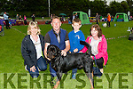 Attending the 2016 Tralee & District Canine Dog Show at An Riocht AC Castleisland on Saturday l-r: Eilish O'Donoghue,Timmy Galvin (Dog Asthor),Peter O'Donoghue and Enda Hanrahan.