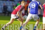 AIdan O'Sullivan Dromid Pearses v  Derrytresk in the AIB All Ireland Junior Club Championship Semi Final at Portlaoise on Sunday