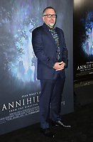 Jeff VanderMeer at the premiere for &quot;Annihilation&quot; at the Regency Village Theatre, Los Angeles, USA 13 Feb. 2018<br /> Picture: Paul Smith/Featureflash/SilverHub 0208 004 5359 sales@silverhubmedia.com