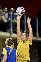 Pulse's Maia Wilson in action during the ANZ Championship - Central Pulse v Adelaide Thunderbirds at Te Rauparaha Arena, Porirua, New Zealand on Sunday 12 June 2016. <br /> Photo by Masanori Udagawa. <br /> www.photowellington.photoshelter.com.