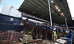 Building on the new stadium continues during the English Premier League match at the White Hart Lane Stadium, London. Picture date: April 15th, 2017.Pic credit should read: Chris Dean/Sportimage