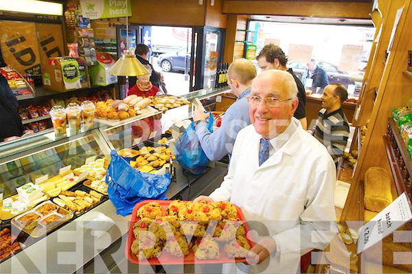 Jim Brosnan who retires from O'Sullivans delicatessen on Friday.