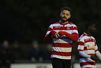 Louie Theophanous of Kingstonian celebrates scoring during Kingstonian vs Lewes, BetVictor League Premier Division Football at King George's Field on 16th November 2019