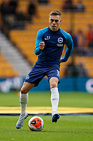 7th March 2020; Molineux Stadium, Wolverhampton, West Midlands, England; English Premier League, Wolverhampton Wanderers versus Brighton and Hove Albion; Leandro Trossard of Brighton & Hove Albion warms-up prior to the match