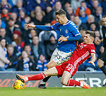 01.02.2020 Rangers v Aberdeen: Matt Polster and Matty Kennedy