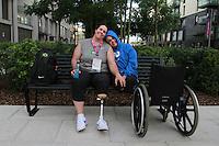LONDRES, UK,  28 DE AGOSTO  -JUEGOS PARALIMPICOS LONDRES 2012- Nesta terça 28 de Agosto, a delegacao Brasileira das paralimpiadas se prepara para a abertura dos jogos paralimpicos. Vila Olimpica, Londres. FOTO: GEORGINA GARCIA/ BRAZIL PHOTO PRESS.