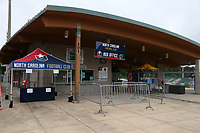 Cary, North Carolina  - Wednesday May 24, 2017: Sahlen's Stadium Box Office prior to a regular season National Women's Soccer League (NWSL) match between the North Carolina Courage and the Sky Blue FC at Sahlen's Stadium at WakeMed Soccer Park. The Courage won the game 2-0.