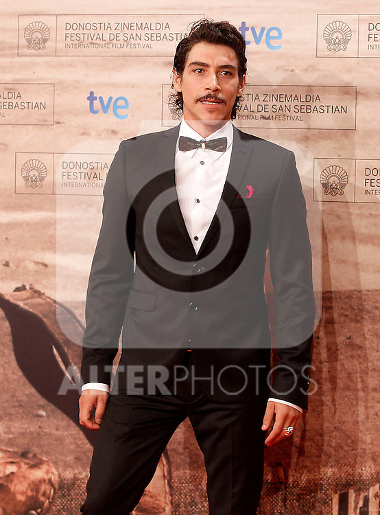 Spanish actor Oscar Jaenada during the 59th San Sebastian Donostia International Film Festival - Zinemaldia.September 24,2011.(ALTERPHOTOS/ALFAQUI/Acero)