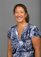 STANFORD, CA - AUGUST 15, 2014-Debbie Iwasaki, with the  Stanford Athletic department.