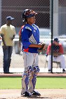 Leonel De Los Santos - Texas Rangers 2009 Instructional League.Photo by:  Bill Mitchell/Four Seam Images..