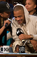 Toronto (ON) CANADA, July 17, 2007-<br /> <br /> King of the South rapper T.I. is in MTV  studio for an interview and performance before a group of his biggest fans. The Grammy Award-winning artist also performed tracks from his number one album T.I. vs T.I.P. <br /> <br /> photo by Cody Bokshowan - Images Distribution