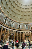 """Rome, Italy - April 4, 2006 -- Interior of the Pantheon, the Roman """"temple of all the gods"""", in Rome, Italy on Tuesday, April 4, 2006.  The Pantheon is the best preserved of all of Rome's ancient building.  It is believed to have been built in the first century AD by the Emperor Hadrian..Credit: Ron Sachs / CNP"""