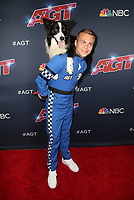 """HOLLYWOOD, CA - SEPTEMBER 10: Lukas Pratschker, Falco, at """"America's Got Talent"""" Season 14 Live Show Red Carpet at The Dolby Theatre  in Hollywood, California on September 10, 2019. Credit: Faye Sadou/MediaPunch"""