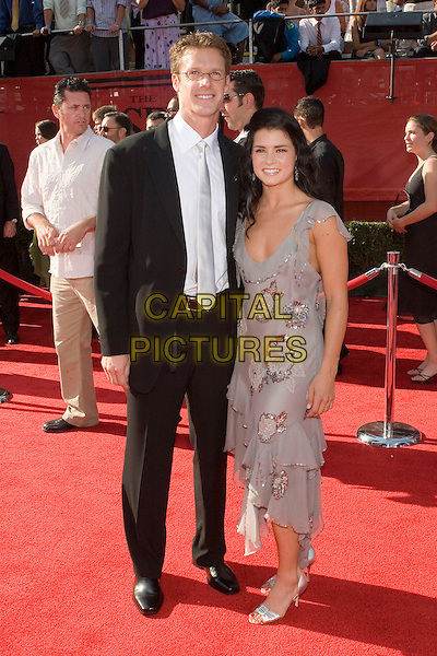 DANICA PATRICK & GUEST.At the 13th Annual ESPY Awards Arrivals .held at the Kodak Theatre, Hollywood, .California, USA, July 13th 2005..full length.Ref: ADM.www.capitalpictures.com.sales@capitalpictures.com.©Zach Lipp/AdMedia/Capital Pictures.
