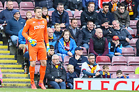 Bradford City goal keeper Colin Doyle who has flown back from international duty to be in the team during the Sky Bet League 1 match between Bradford City and Plymouth Argyle at the Northern Commercial Stadium, Bradford, England on 11 November 2017. Photo by Thomas Gadd.