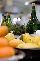 Belo Horizonte_MG, Brasil...Ingredientes para a preparacao de receita no Festival Gastronomico Sabor e Saber...Ingredients for the preparation of revenue in the Gastronomy Festival Sabor e Saber...FOTO: BRUNO MAGALHAES / NITRO