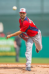 2 March 2013: Washington Nationals pitcher Gio Gonzalez on the mound during a Spring Training game against the St. Louis Cardinals at Roger Dean Stadium in Jupiter, Florida. The Nationals defeated the Cardinals 6-2 in their first meeting since the NLDS series in October of 2012. Mandatory Credit: Ed Wolfstein Photo *** RAW (NEF) Image File Available ***