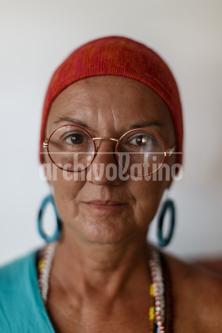 Cuban artist Sandra Ceballo.Once more Cubans are experimenting deep turns in their scattered economy. A photo essay by Lorenzo Moscia with available story by Colette Rodriguez Marcano.