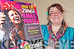 READY TO ZUMBA?: Christine Klein of Killorglin Sports and Leisure Complex announcing details of Kerry's first Zumbathon which will be held on 18th December.