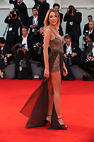 Alice Campello walks the red carpet ahead of the 'Racer And The Jailbird (Le Fidele)' screening during the 74th Venice Film Festival at Sala Grande on September 8, 2017 in Venice, Italy.<br /> CAP/GOL<br /> &copy;GOL/Capital Pictures