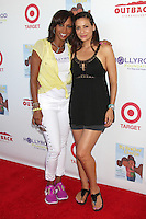 CULVER CITY, CA - AUGUST 12:  Holly Robinson Peete and Constance Marie at the 3rd Annual My Brother Charlie Family Fun Festival at Culver Studios on August 12, 2012 in Culver City, California.  Credit: mpi26/MediaPunch Inc.