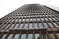 The Detroit campus of the University of Phoenix is seen in Detroit (Mi) Saturday June 8, 2013.