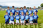 The Faha NS team that played in the Killarney Garda NS football blitz in Fitzgerald Stadium on Wednesday