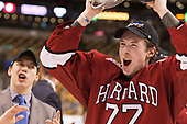 Lewis Zerter-Gossage (Harvard - 77) - The Harvard University Crimson defeated the Boston University Terriers 6-3 (EN) to win the 2017 Beanpot on Monday, February 13, 2017, at TD Garden in Boston, Massachusetts.