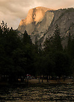 Half Dome from Lower Pines Campgroundm Yosemite - 2011
