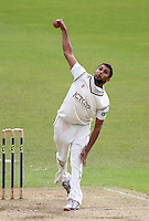 PICTURE BY VAUGHN RIDLEY/SWPIX.COM - Cricket - County Championship Div 2 - Yorkshire v Essex, Day 3 - Headingley, Leeds, England - 21/04/12 - Yorkshire's Adil Rashid.