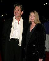©2005 KATHY HUTCHINS /HUTCHINS PHOTO.TELEVISION CRITICS TOUR - HALLMARK CHANNEL PARTY.THE EBELL CLUB.LOS ANGELES, CA.JANUARY 13, 2005..PATRICK SWAYZE.LISA NIEMI