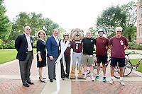 MSU on the Move Celebration Ceremony - Tricycle Race<br />  (photo by Beth Wynn / &copy; Mississippi State University)