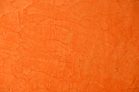 BOGOTA-COLOMBIA. Pared color naranja texturizada./ orange wall with texture.  Photo: VizzorImage