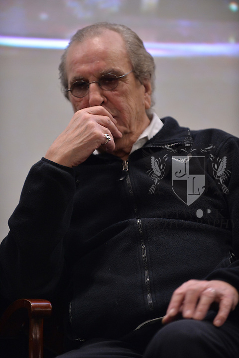 CORAL GABLES, FL - NOVEMBER 20: Danny Aiello attend Q&A session after the premiere screening Of 'Reach Me' Hosted by University Of Miami inside the BankUnited Center Fieldhouse at University of Miami on Thursday November 20, 2014 in Coral Gables, Florida. (Photo by Johnny Louis/jlnphotography.com)