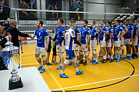 GRONINGEN - Volleybal, Lycurgus - Taurus, Supercup, seizoen 2018-2019, 29-09-2018,  :Lycurgus haalt de medaille