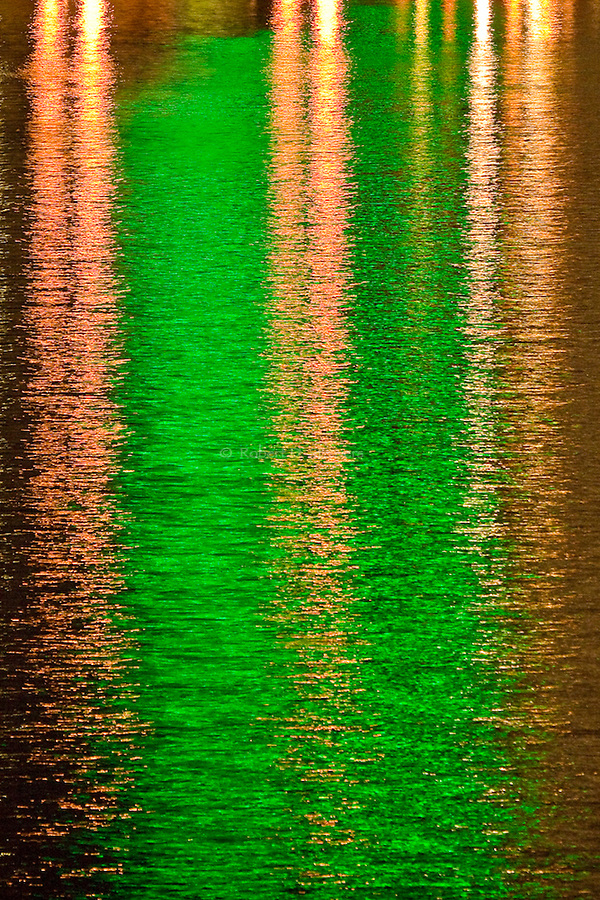 Abstract River Reflections -