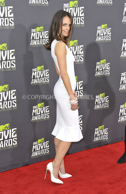 WWW.ACEPIXS.COM....April 14 2013, LA......Jordana Brewster arriving at the 2013 MTV Movie Awards at Sony Pictures Studios on April 14, 2013 in Culver City, California. ....By Line: Peter West/ACE Pictures......ACE Pictures, Inc...tel: 646 769 0430..Email: info@acepixs.com..www.acepixs.com