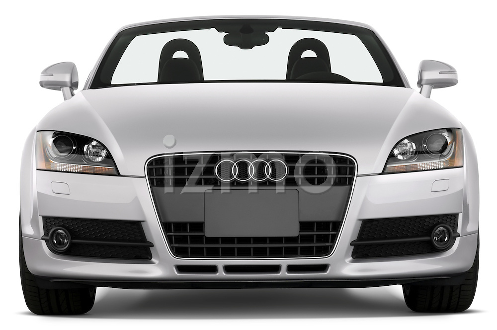 Straight front view of a 2007 - 2010 Audi TT Roadster