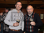 Tommy and Gerry Neacy at the special night for the late Francie and Angela Taaffe in Connor's pub Dunleer. Photo:Colin Bell/pressphotos.ie