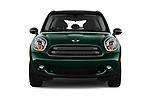 Car photography straight front view of a 2016 MINI Countryman Countryman 5 Door Hatchback Front View
