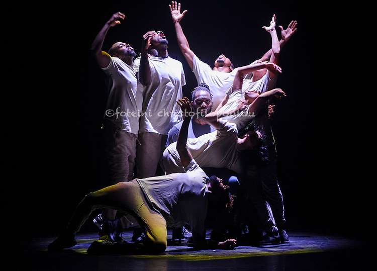 London, UK. 31.05.2018. Barbican presents A Night with Boy Blueinthe Barbican Theatre 1-2 June 2018. Picture shows: Boy Blue. Photo - © Foteini Christofilopoulou.