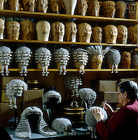 Kathleen Clifford is head wig maker at Ede & Ravenscroft, purveyors of ceremonial robes since 1689 and of wigs since 1726