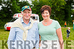 John Galvin (Scartaglen) and Patsy Maher (Castleisland) attending the Castleisland Races on Sunday.