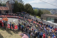 first ascent of the Mur de Huy<br /> <br /> 81st Fl&egrave;che Wallonne 2017 (1.UWT)<br /> 1day race: Binche &gt; Huy 200,5KM