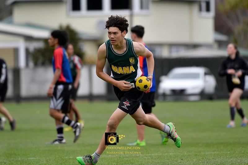 Ki-o-Rahi – CSW Senior Tournament at Te Whiti Park, Lower Hutt, New Zealand on Tuesday 24 September 2019. <br /> Photo by Masanori Udagawa. <br /> www.photowellington.photoshelter.com