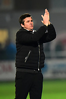 Fleetwood Town manager Joey Barton  applauds the fans<br /> <br /> Photographer Richard Martin-Roberts/CameraSport<br /> <br /> The EFL Sky Bet League One - Fleetwood Town v Coventry City - Tuesday 27th November 2018 - Highbury Stadium - Fleetwood<br /> <br /> World Copyright &not;&copy; 2018 CameraSport. All rights reserved. 43 Linden Ave. Countesthorpe. Leicester. England. LE8 5PG - Tel: +44 (0) 116 277 4147 - admin@camerasport.com - www.camerasport.com